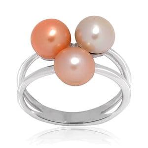 Prsteň Pure Pearls Peach, veľ. 54