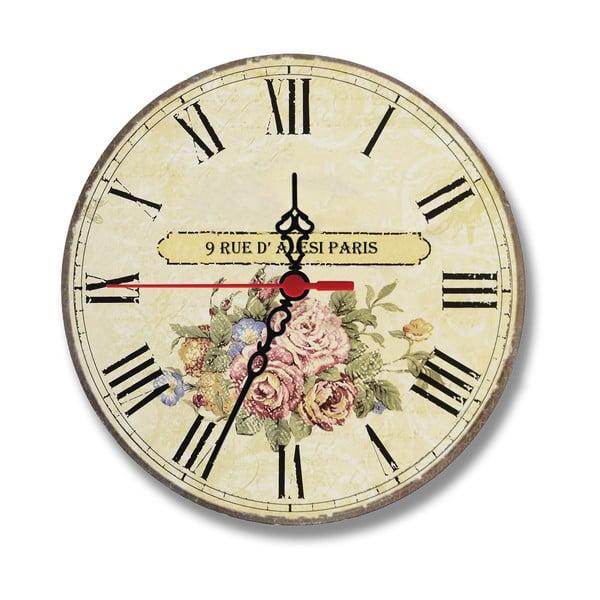 Nástenné hodiny Rue Paris, 30 cm