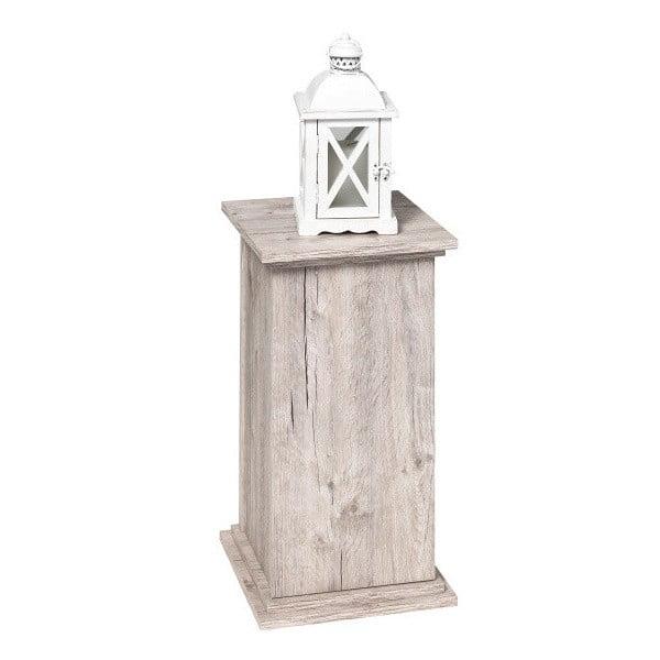 Stolík v dekore svetlého duba 13Casa Fireplace