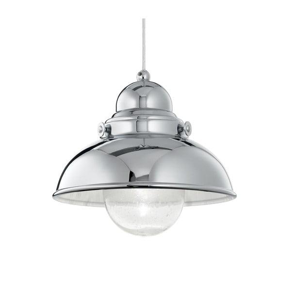 Závesné svetlo Evergreen Lights Crido Loft Chrome, 29 cm