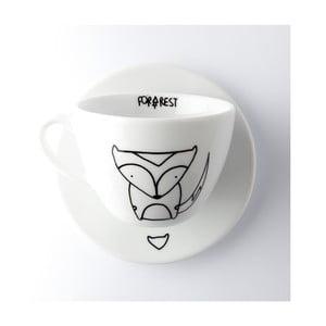 Hrnček na kávu Fox, 200 ml