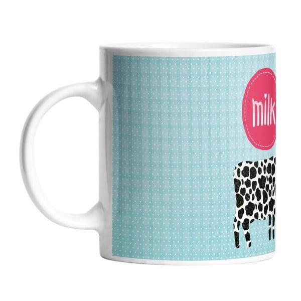 Keramický hrnček I Love Milk, 330 ml