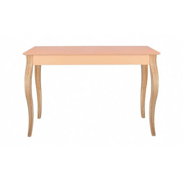 Konzolový stolík Dressing Table 150x74 cm, oranžový