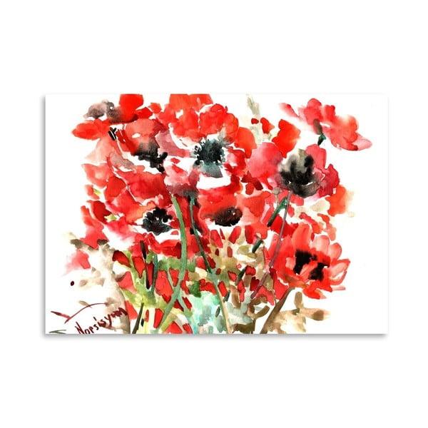 Plagát Anemones Red od Suren Nersisyan