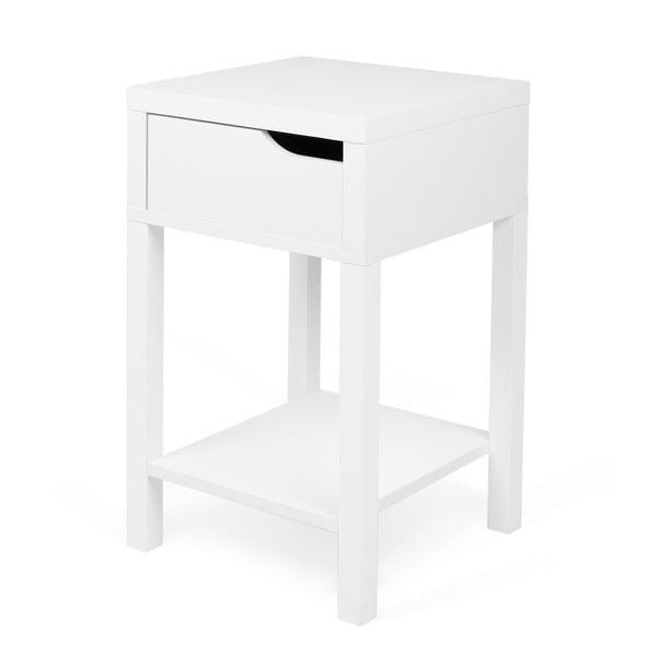 Nočný stolík Side Table White