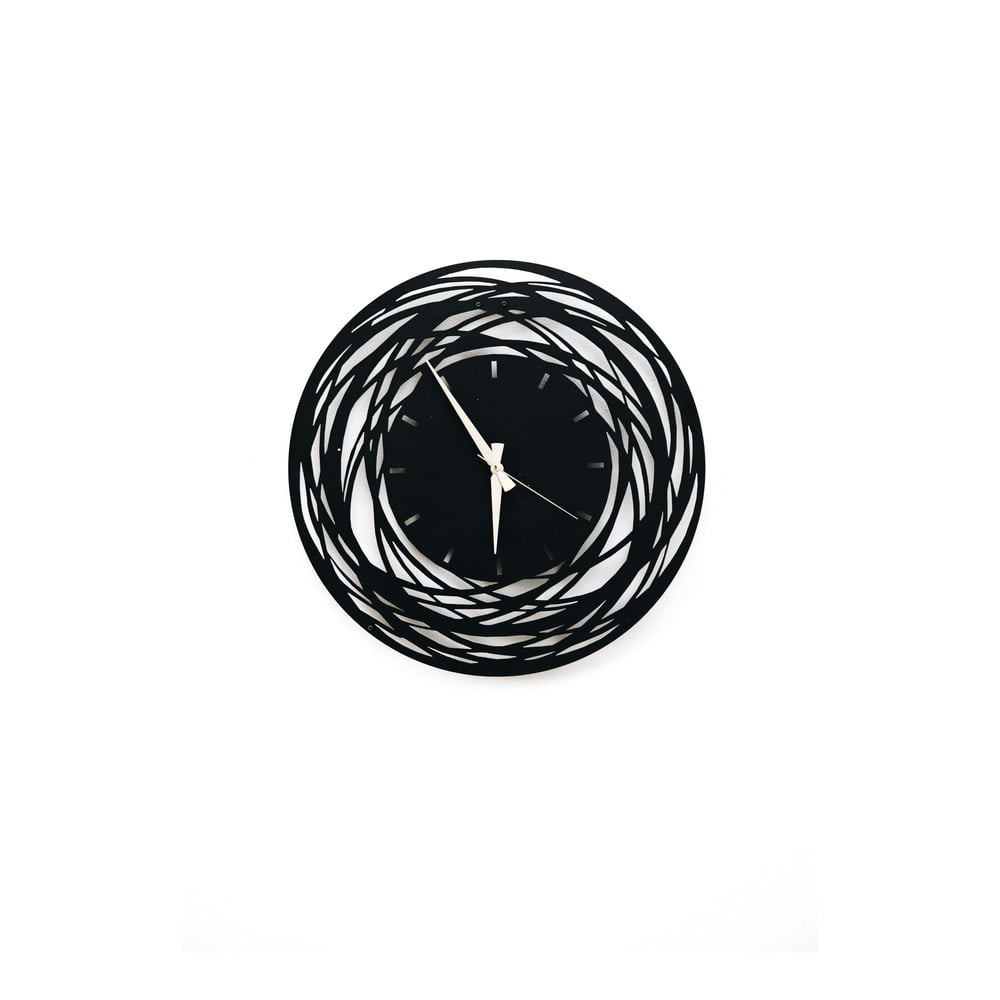 Kovové nástenné hodiny Ball, 50 × 50 cm