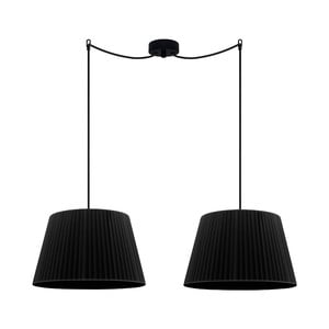 Čierne závesné svetlo Sotto Luce KAMI Elementary M 2S
