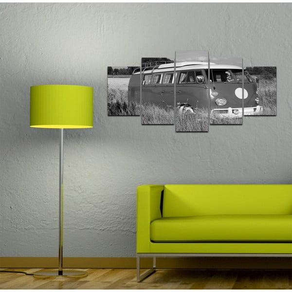 Viacdielny obraz Black&White no. 38, 100x50 cm