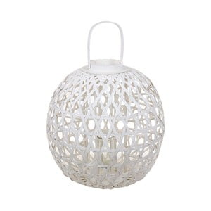 Biely lampáš z ratanu Santiago Pons Remiremont