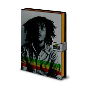 Zápisník A5 Pyramid International Bob Marley, 120 strán