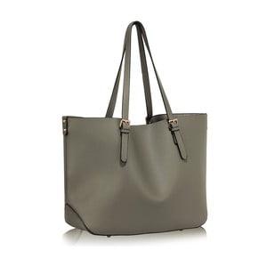 Sivá kabelka L&S Bags Shopper