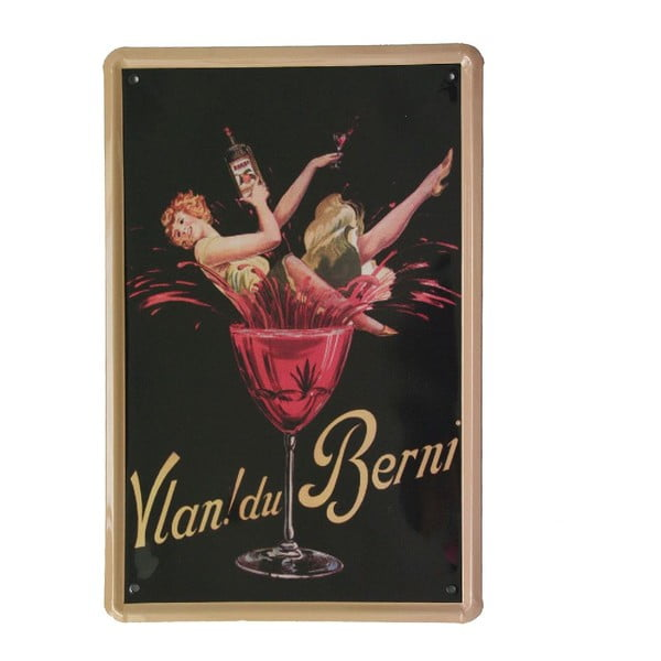 Ceduľa Vlan Du Verni, 20x30 cm