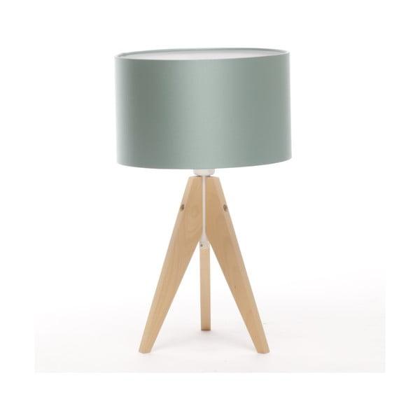 Stolná lampa Artista Birch/Light Green, 28 cm