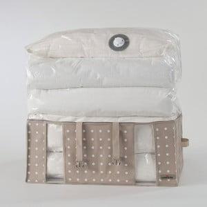 3ab3dd280 Béžový úložný box s vákuovým obalom Compactor Rivoli, šírka 65 cm