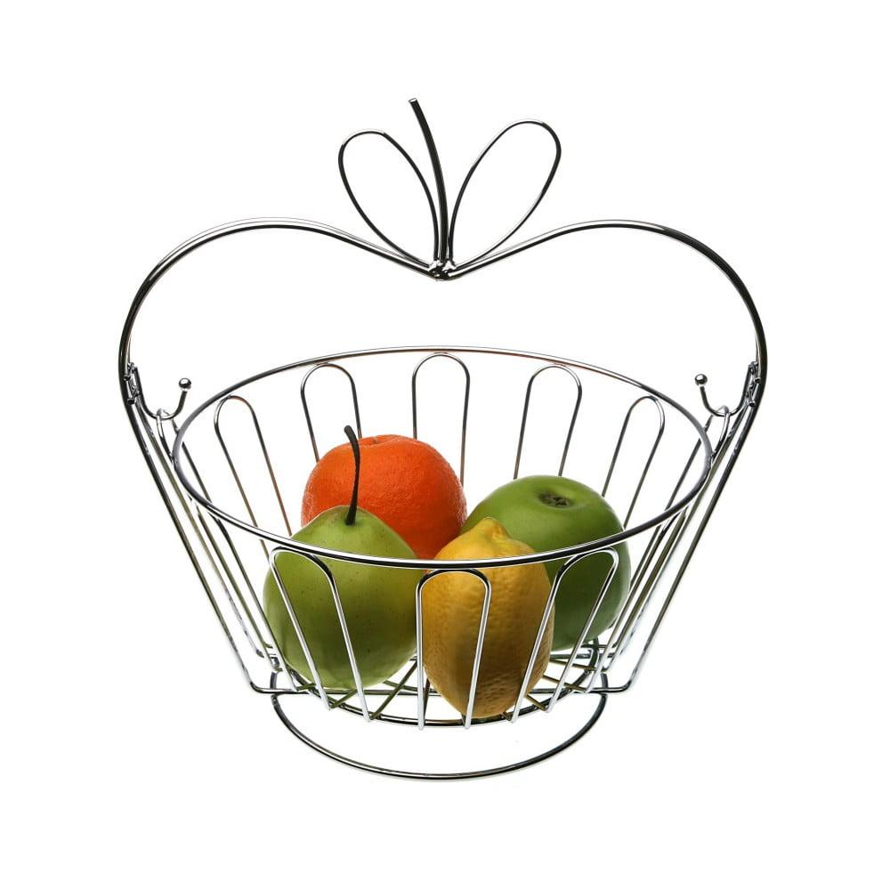 Kovový košík na ovocie Versa Apple