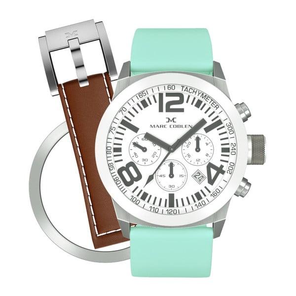 Dámske hodinky Marc Coblen s remienkom a krúžkom na ciferník naviac P76