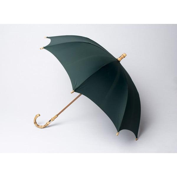 Bambusový dáždnik Gents, zelený