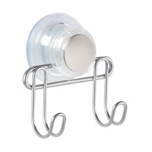 Dvojitý háčik s prísavkou InterDesign Turn-N-Lock