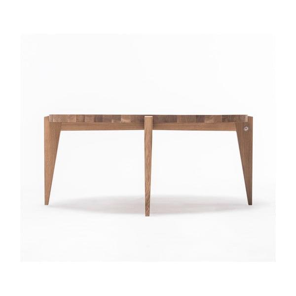 Dubový kávový stolík Bontri, 110x50 cm