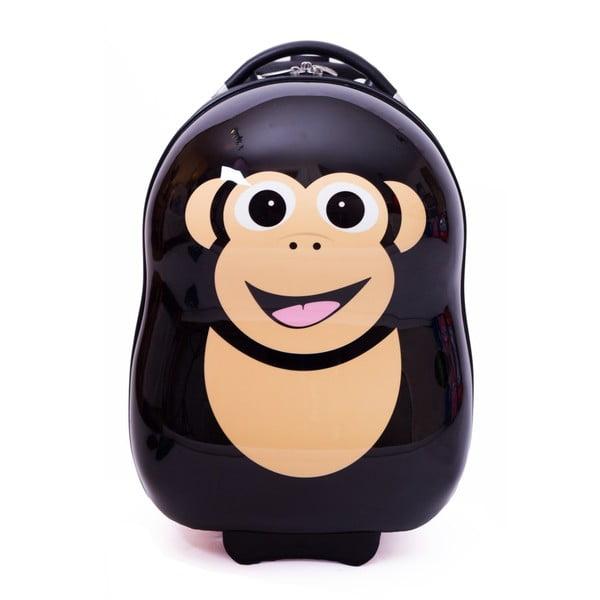 Kufrík na kolieskach Šimpanz