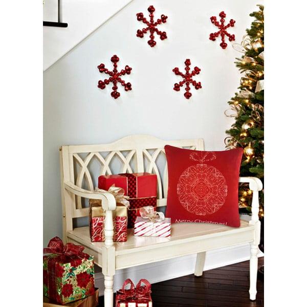 Vankúš s výplňou Christmas V24, 45 x 45 cm