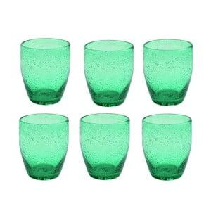 Sada pohárov Acapulco Verde Smeraldo, 6 ks