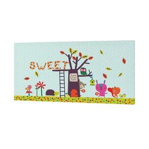 Nástenný obrázok Sweet Home, 27x54 cm