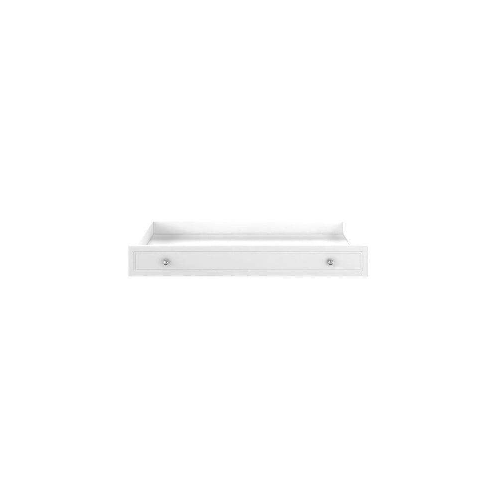 Biela zásuvka pod postieľku BELLAMY Marylou, 60 × 120 cm