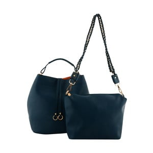 Modrá kožená kabelka Kris Ana Kris Ana Blue