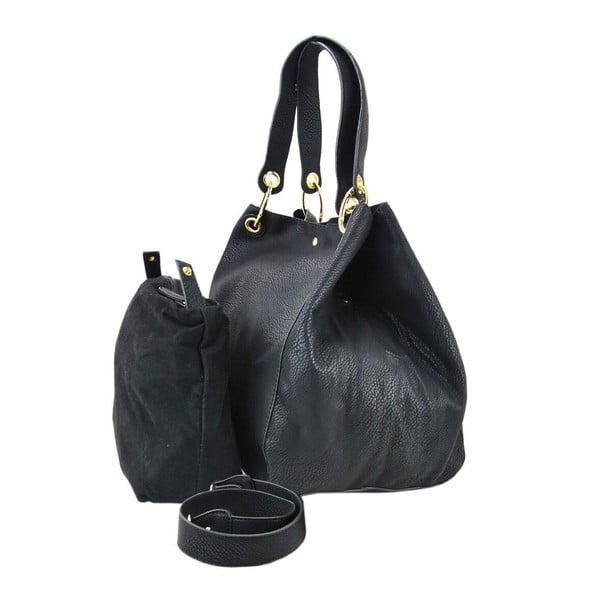 Kožená kabelka Siona Black