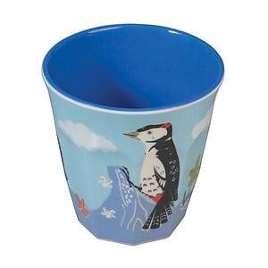 Melamínový pohárik Rex London Woodpecker