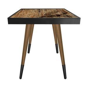 Príručný stolík Caresso Owl Square, 45 × 45 cm