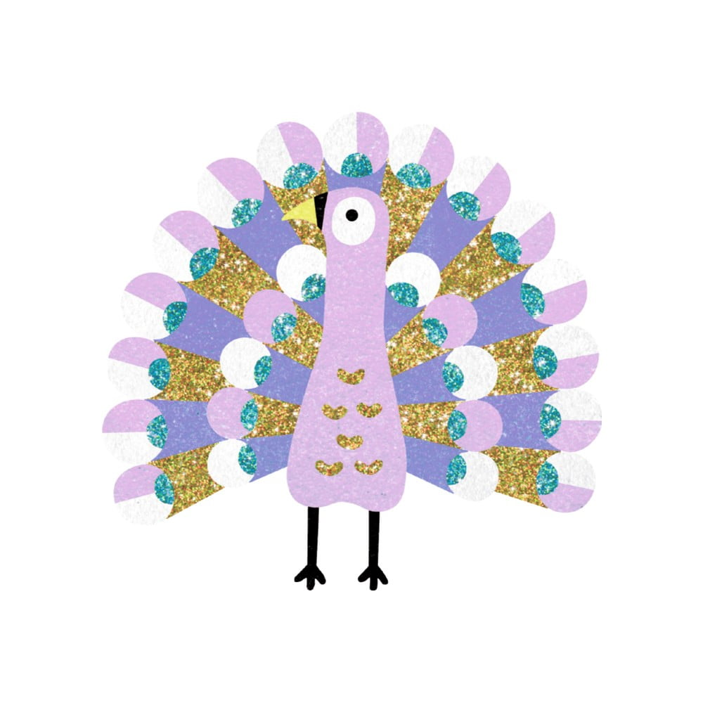Detská kreatívna sada pieskovanie Djeco Oslňujúce vtáky