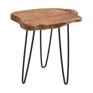 Odkladací stolík s doskou z cédrového dreva 360 Living Montanio 222