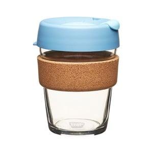 Cestovný hrnček s viečkom KeepCup Brew Cork Edition Rock Salt, 340 ml