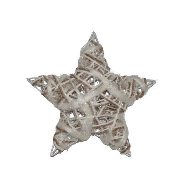 Sada 3 závesných hviezd Rattan
