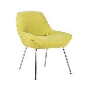Žltá stolička Design Twist Taba