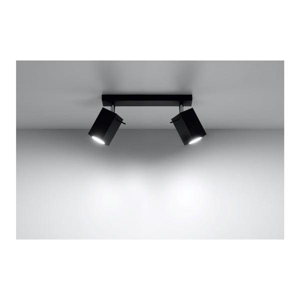Čierne stropné svetlo Nice Lamps Toscana 2