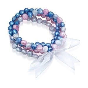 Perlový náramok Laris Blue