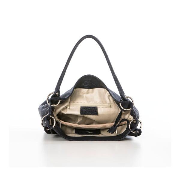 Kožená kabelka Dellio Navy