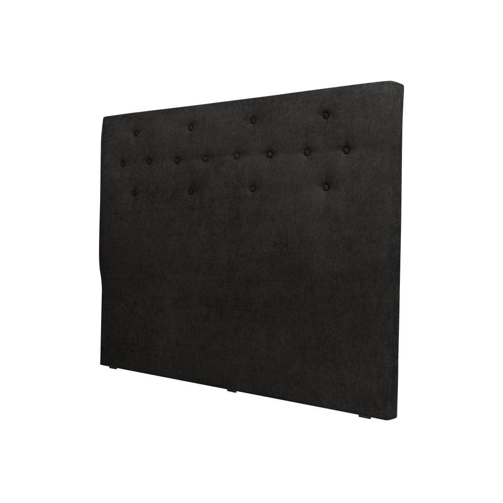 Čierne čelo postele Windsor & Co Sofas Phobos, 180 × 120 cm