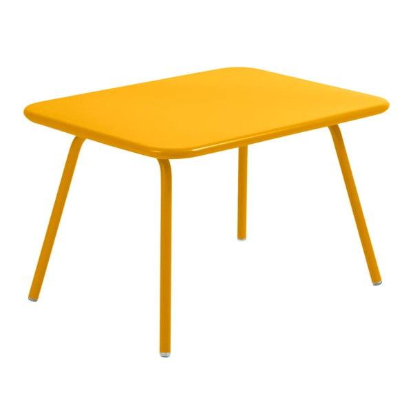 Žltý detský stôl Fermob Luxembourg