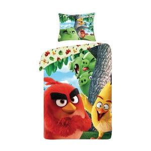 Detské bavlnené obliečky Halantex Angry Birds Movie, 140 x 200 cm