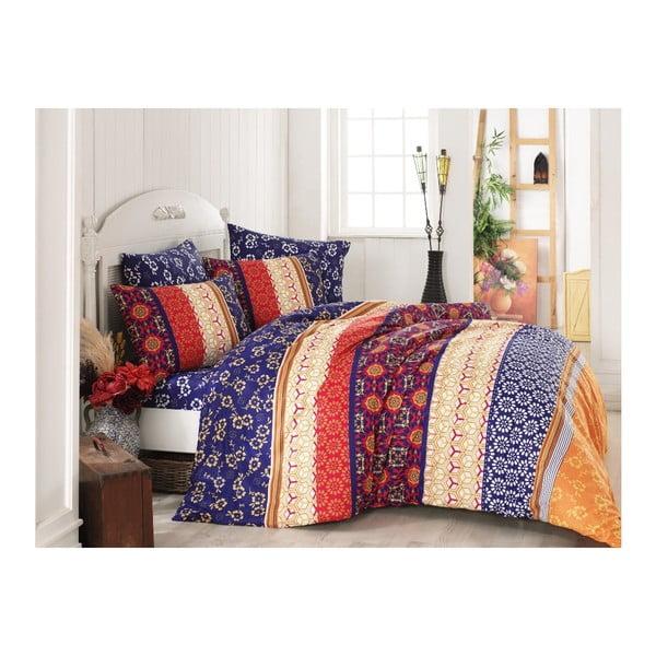 Set bavlnených obliečok na jednolôžko Colourful, 200 x 220 cm