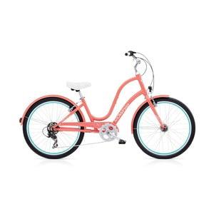Dámsky bicykel Townie Original 7D EQ Coral