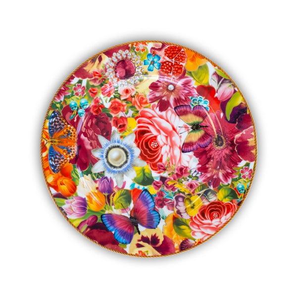 Porcelánový plytký tanier Melli Mello Eliza, 30.5 cm