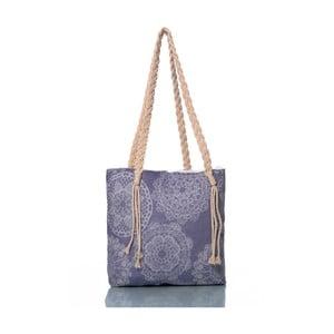 Modrá taška Homedebleu Lace, 50×40cm