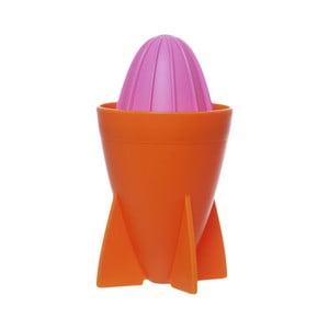 Oranžový odšťavovač PT LIVING Juicer Rocekt, 250ml