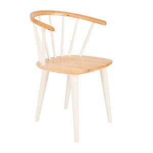 Biela stolička Glee