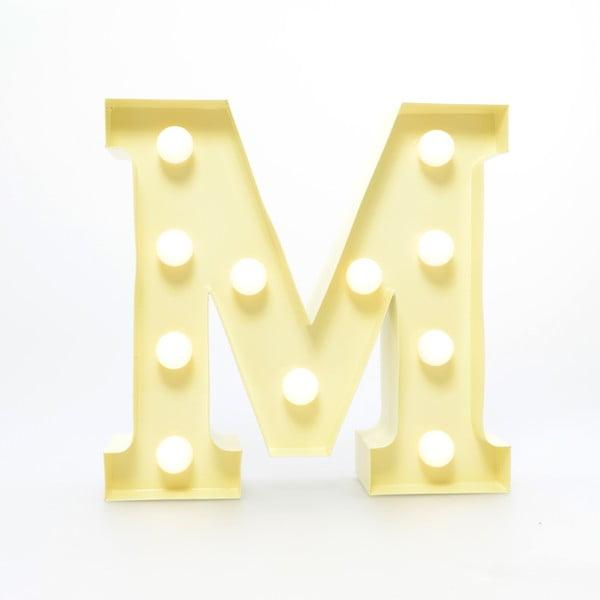 Dekoratívne svetlo Carnival M, vanilkové